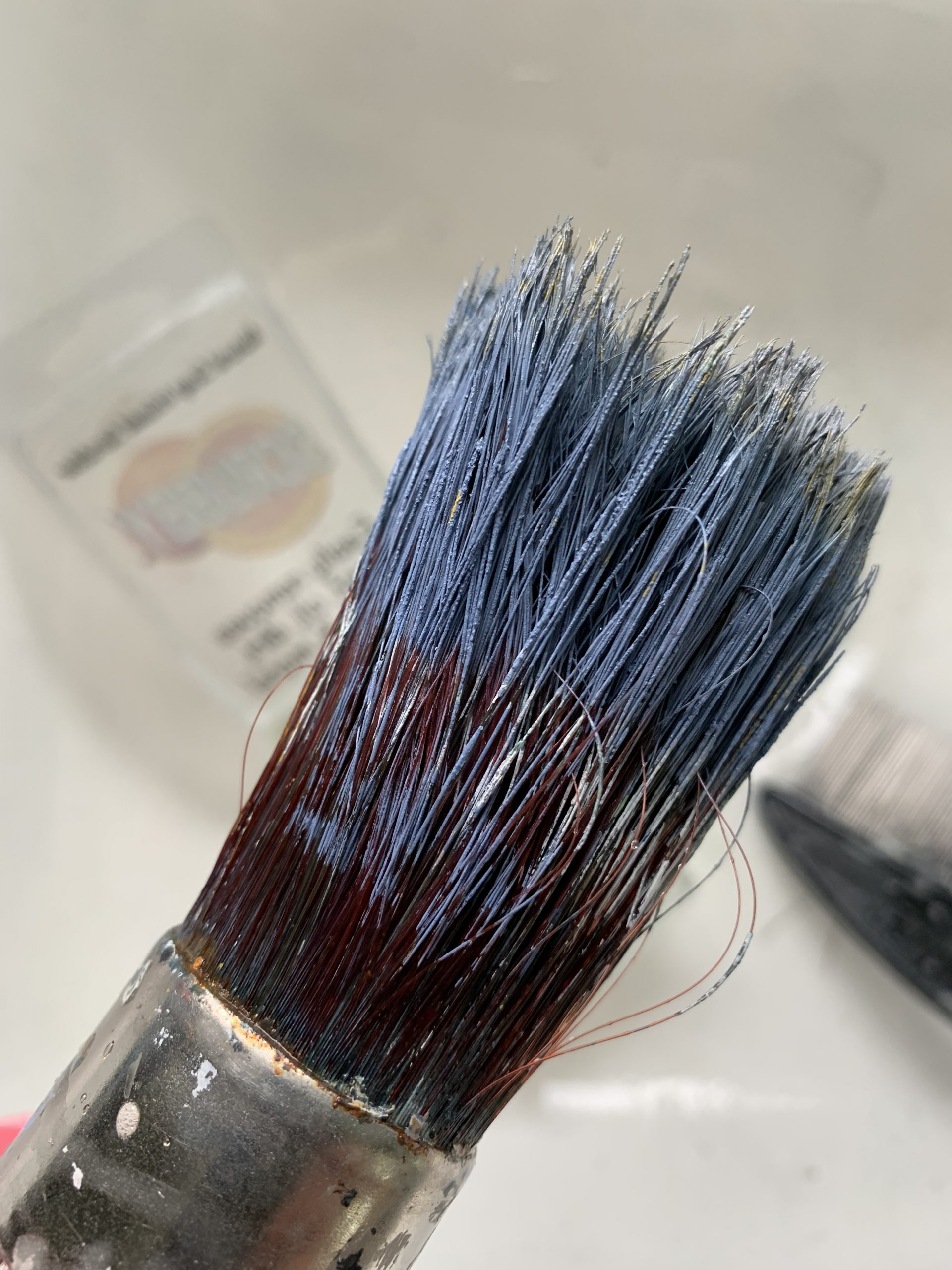 How to clean paint brushes. How do you clean a paint brush after use.