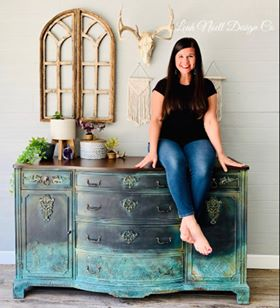 Leah Noell Design Co. Summer inspired furniture. Summer classic furniture. Summer decorating ideas. Summer inspired home. Summer decor.