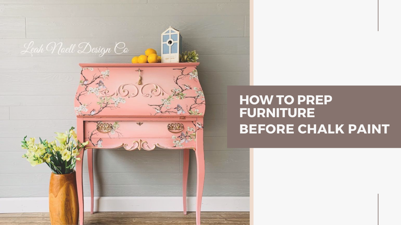 How to prep furniture before painting
