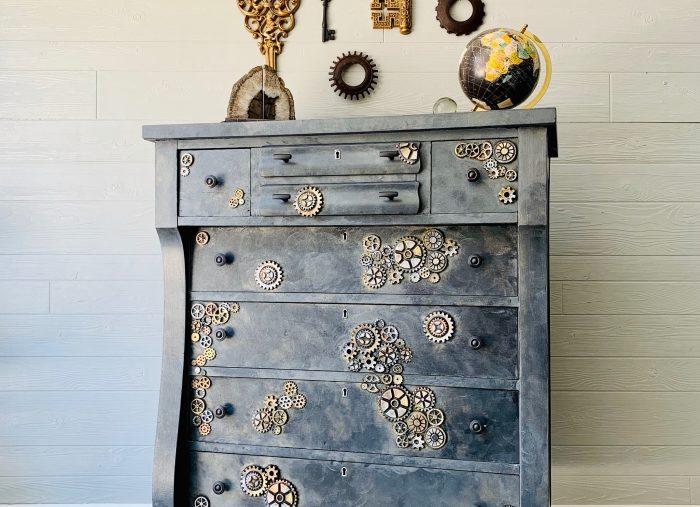 Steampunk Dresser.