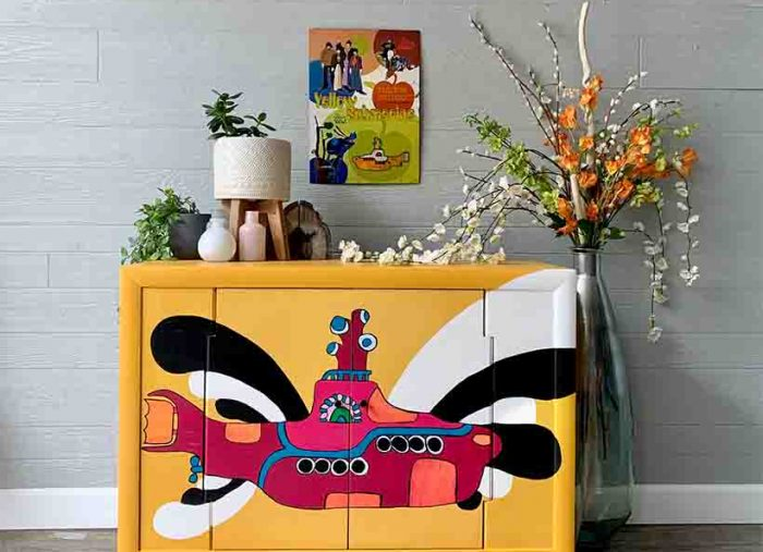 Yellow Submarine on Furniture!!